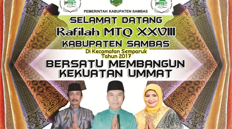 Sukseskan MTQ XXVIII di Semparuk