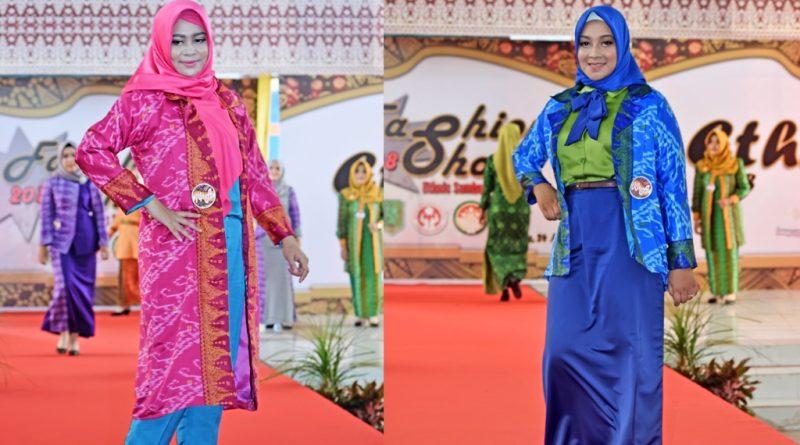 Populerkan Kain Lunggi Dengan Ethnic Sambas Fashion Show 2018