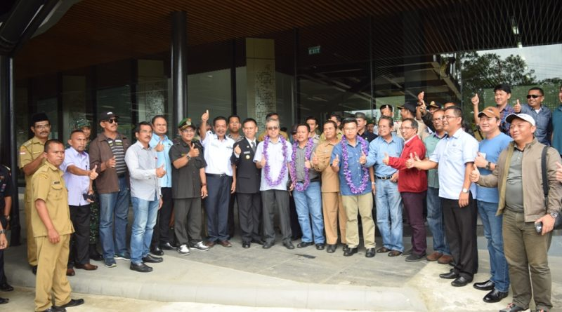 Pelintasan Perdana di PLBN Aruk